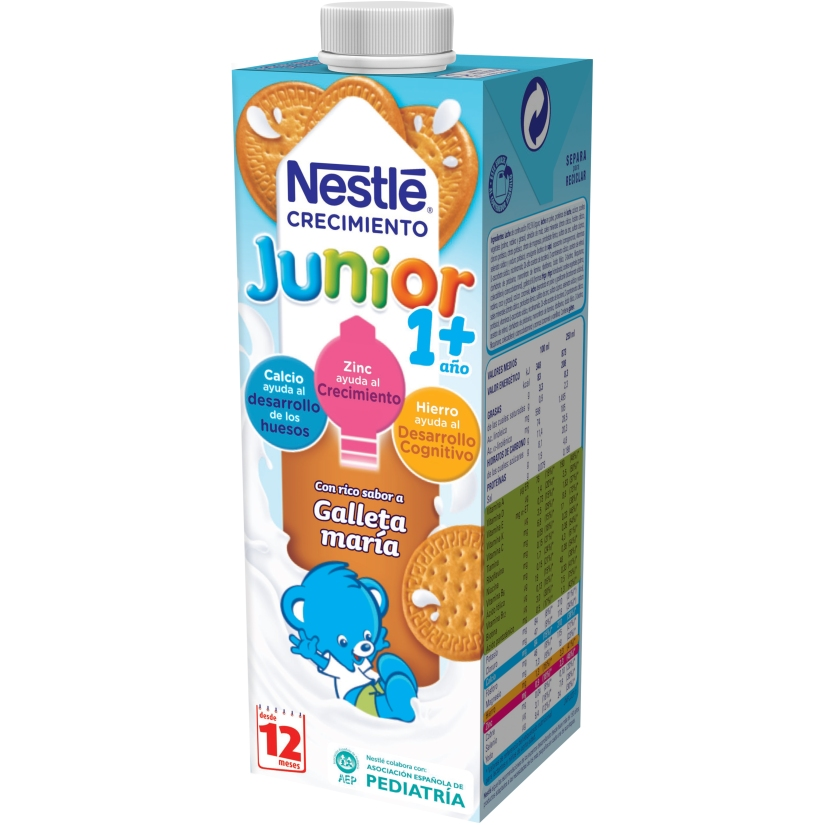 NESTLÉ JUNIOR 1+ GALLETA 1L